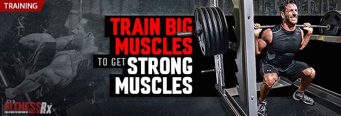 Train Big Muscles to Get Strong Muscles