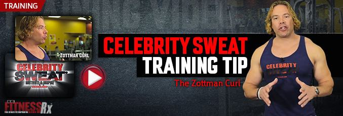 Celebrity Sweat Training Tip – The Zottman Curl