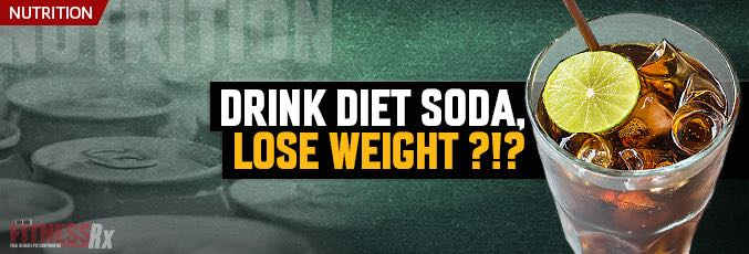 lose weight with diet soda