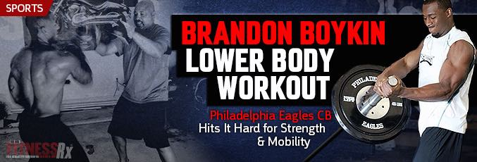 Brandon Boykin Lower Body Workout