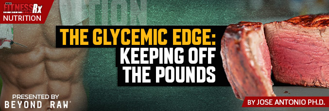 The Glycemic Edge: Keeping Off the Pounds