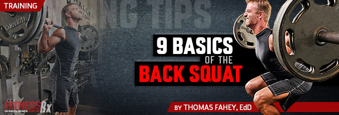 9 Basics Of The Back Squat
