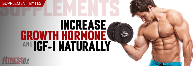 Increase Growth Hormone and IGF-1 Naturally