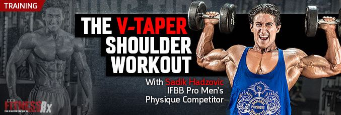 The V-Taper Shoulder Workout