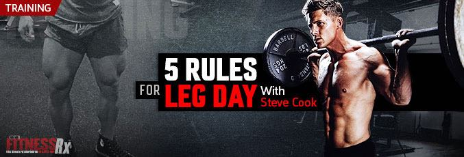 5 Rules For Leg Day