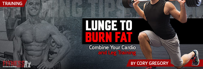 Lunge To Burn Fat
