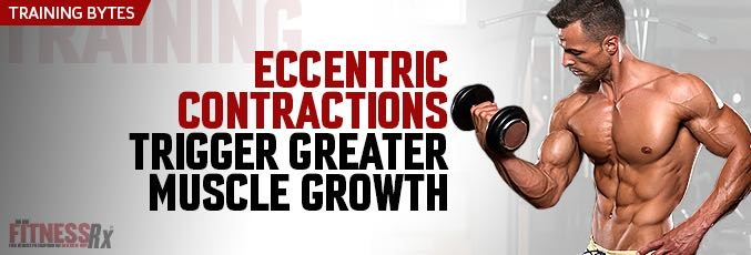 Eccentric Contractions Trigger Greater Muscle Growth