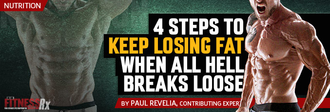 4 Steps To Keep Losing Fat When All Hell Breaks Loose