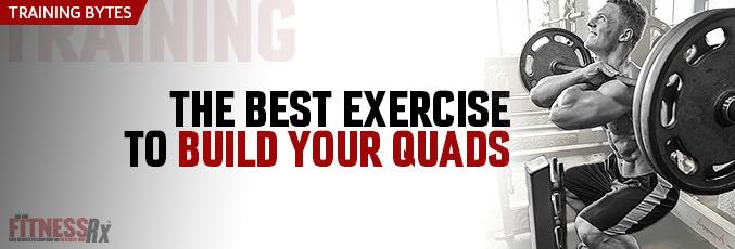 The Best Exercise To Build Your Quads