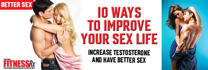 10 Ways to Improve Your Sex Life