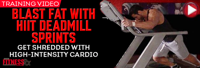 Blast Fat With HIIT Deadmill Sprints