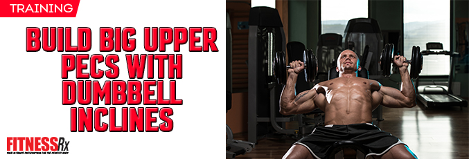 Build Big Upper Pecs With Dumbbell Inclines