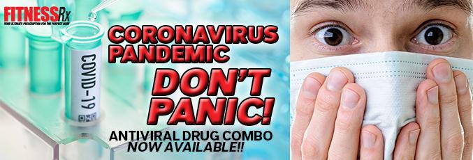 CORONAVIRUS PANDEMIC- DON'T PANIC!