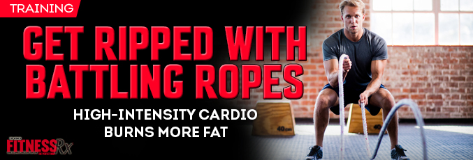 Get Ripped With Battling Ropes