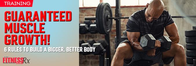 Guaranteed Muscle Growth!