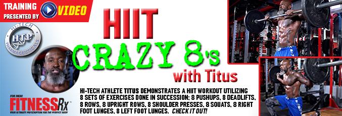HIIT Crazy 8ΓÇÖs with Titus rotator