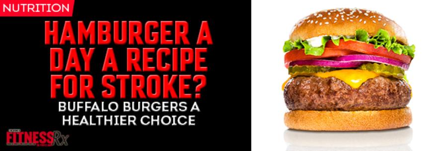 Hamburger a Day a Recipe for Stroke?