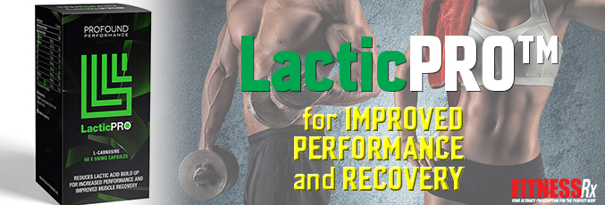 LacticPRO™ for Improved Performance and Recovery
