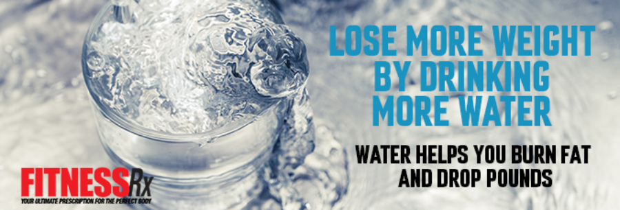 Lose More Weight by Drinking More Water -new Men