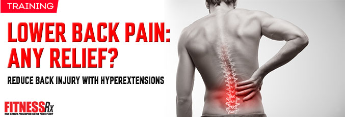 Lower Back pain- Any Relief?
