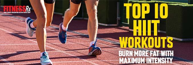 Men-Top 10 HIIT Workouts