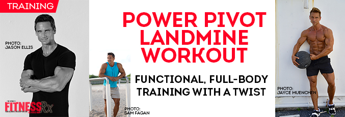 Power Pivot Landmine Workout