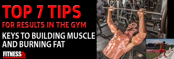 Top 7 Tips for Results in the Gym