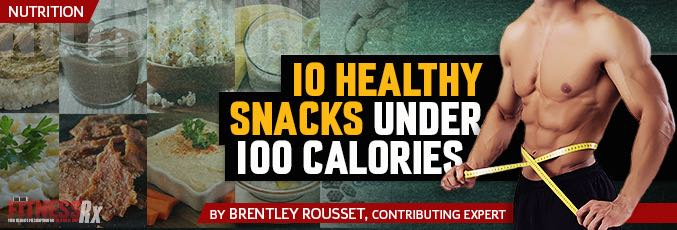 10 Healthy Snacks Under 100 Calories