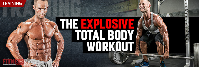 The Explosive Total Body Workout