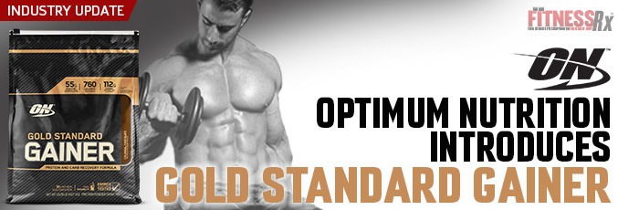 Optimum Nutrition Introduces Gold Standard Gainer