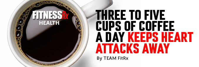 Three to Five Cups Of Coffee a Day Keeps Heart Attacks Away