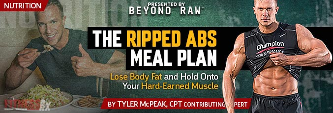 The Ripped Abs Meal Plan