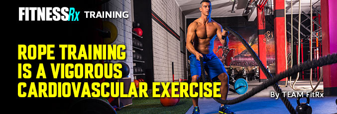 Rope Training Is a Vigorous Cardiovascular Exercise