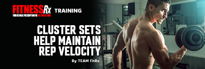 Cluster Sets Help Maintain Rep Velocity
