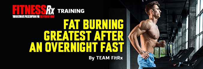 Fat Burning Greatest After An Overnight Fast