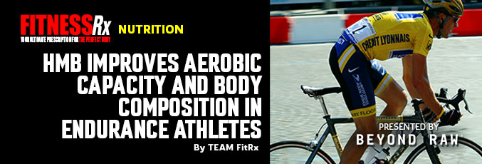 HMB Improves Aerobic Capacity and Body Composition in Endurance Athletes