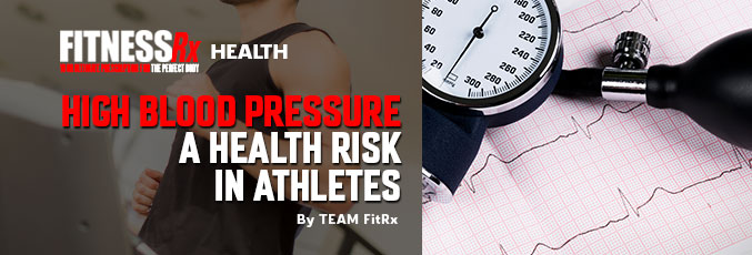 High Blood Pressure a Health Risk in Athletes