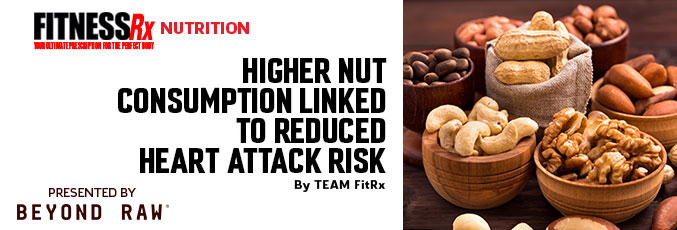Higher Nut Consumption Linked to Reduced Heart Attack Risk