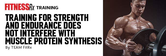 Training for Strength and Endurance Does Not Interfere With Muscle Protein Synthesis