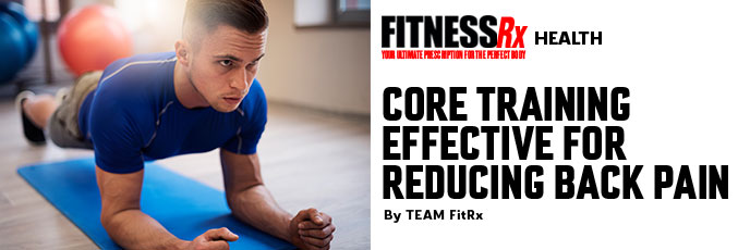 Core Training Effective for Reducing Back Pain