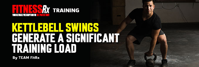 Kettlebell Swings Generate a Significant Training Load