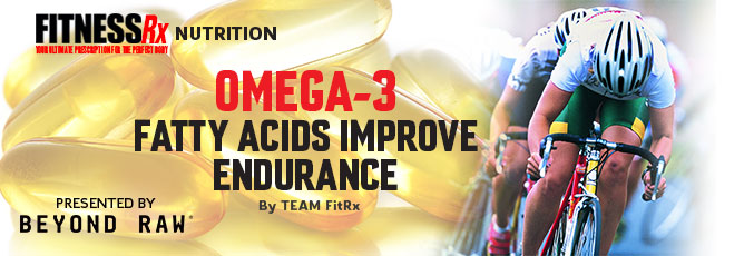 Omega-3 Fatty Acids Improve Endurance
