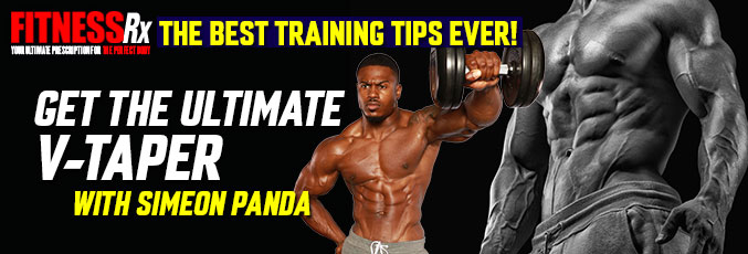 Get the Ultimate V-Taper