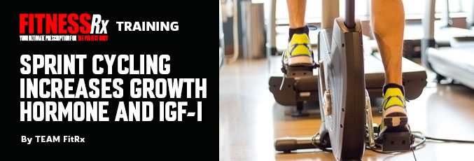 Sprint Cycling Increases Growth Hormone and IGF-1