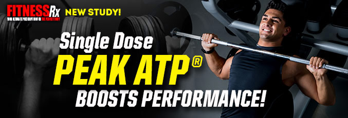 Peak ATP Helps Increase Energy, Strength, And Reps