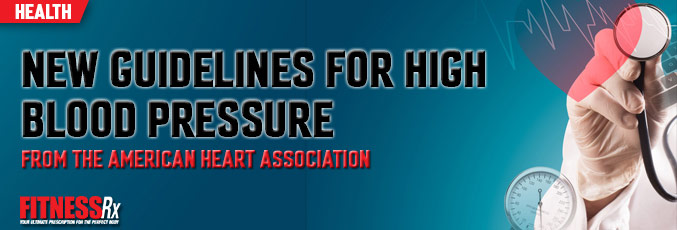 New Guidelines for High Blood Pressure