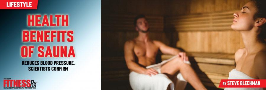 Health Benefits of Sauna - Reduces Blood Pressure, Scientists Confirm