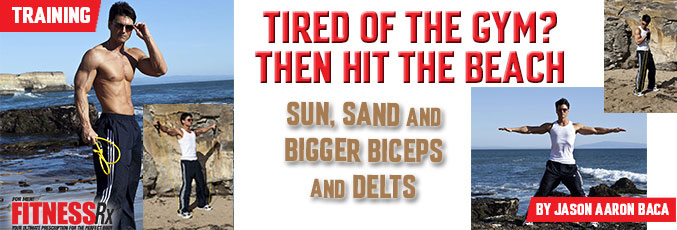 Tired of the Gym? Then Hit the Beach