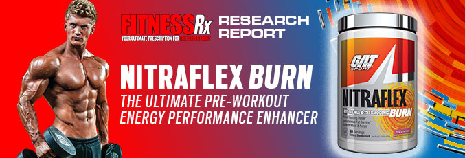 NITRAFLEX® BURN  The Ultimate Pre-workout Energy Performance Enhancer