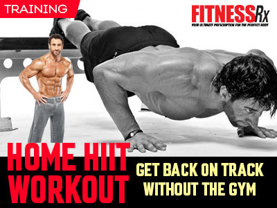 home hiit workout  fitnessrx for men